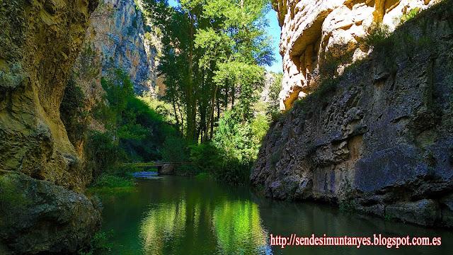 Camino natural del río Guadalaviar