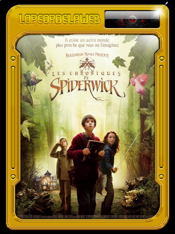 Las crónicas de Spiderwick (2008) [BrRip-720p-Dual-Mega]