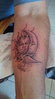 moon and sun tattoo designs