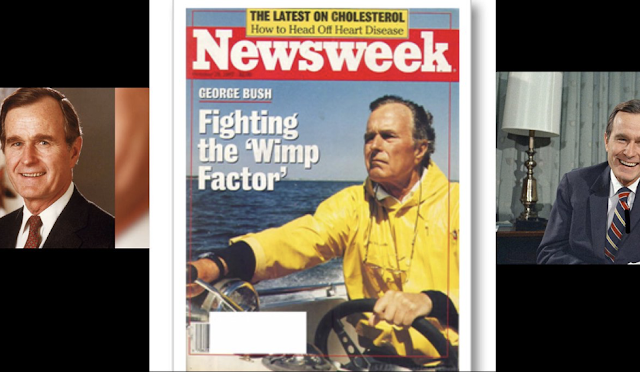 Writer who addressed George H.W. Bush's 'Wimp Factor' for Newsweek explains why he was wrong