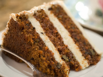 The Domestic Curator Blue Ribbon Winning Carrot Cake With