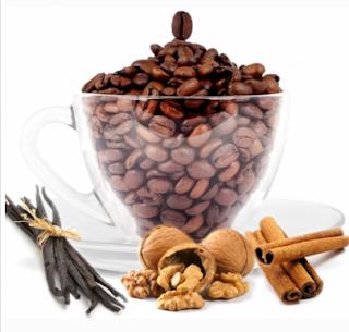 Cafea cu aroma de vanilie si scortisoara -comanda aici