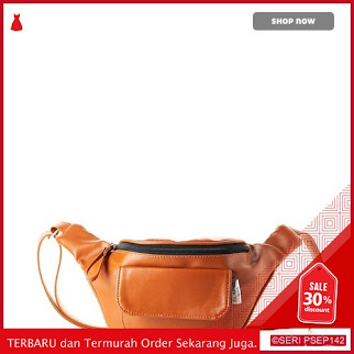 BAG528 Tas Wanita Waist Bag Wanita 32CO005577 Cokelat | BMGShop