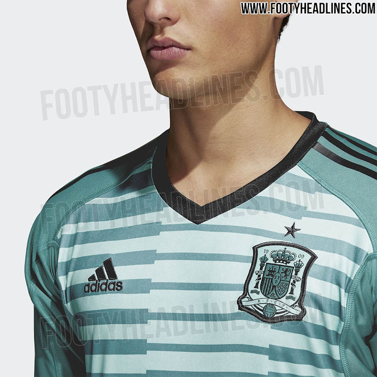 87bd2a4b6 Spain 2018 World Cup Goalkeeper Kits Released - Footy Headlines