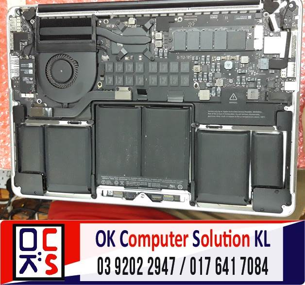 [SOLVED] MASALAH MACBOOK PRO CANNOT ON | REPAIR LAPTOP CHERAS 1