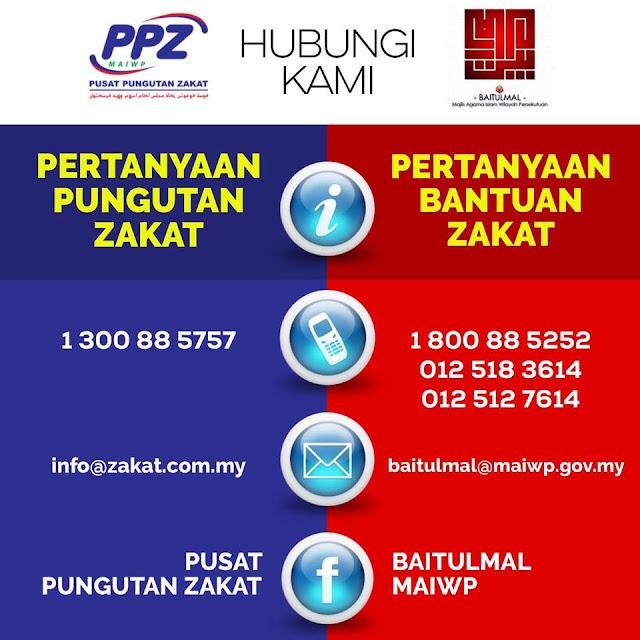 Tutorial Pembayaran Zakat Fitrah Secara Online di zakat2u.com.my