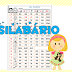 TABELA COM SILABÁRIO ILUSTRADO