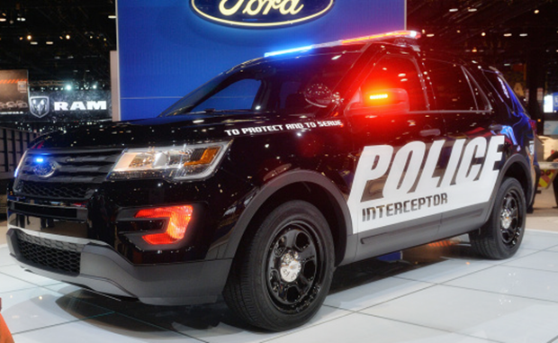 2018 Ford Police Interceptor Exterior