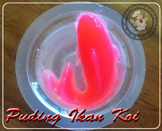 Resep Cara Membuat Agar-agar Ikan Koi Sederhana Sedap Nikmat