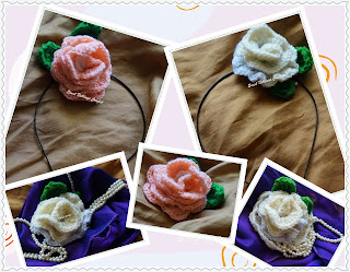 free crochet pattern for rose motif