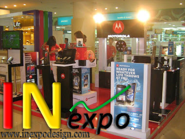 Rebranding Motorola Inexpo Kontraktor Pameran