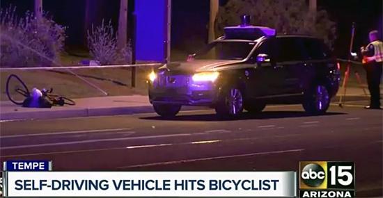 Acidente carro autonomo Uber - Capa