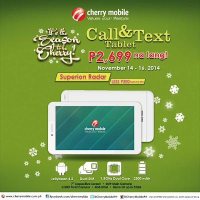 Cherry Mobile Superion Radar Price Drop