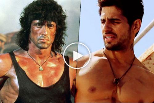 Siddharth Malhotra may play the Indain version of 'Rambo'