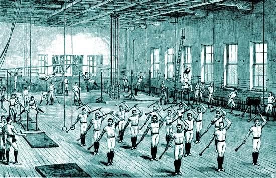 Historia de los gimnasios y su evolución