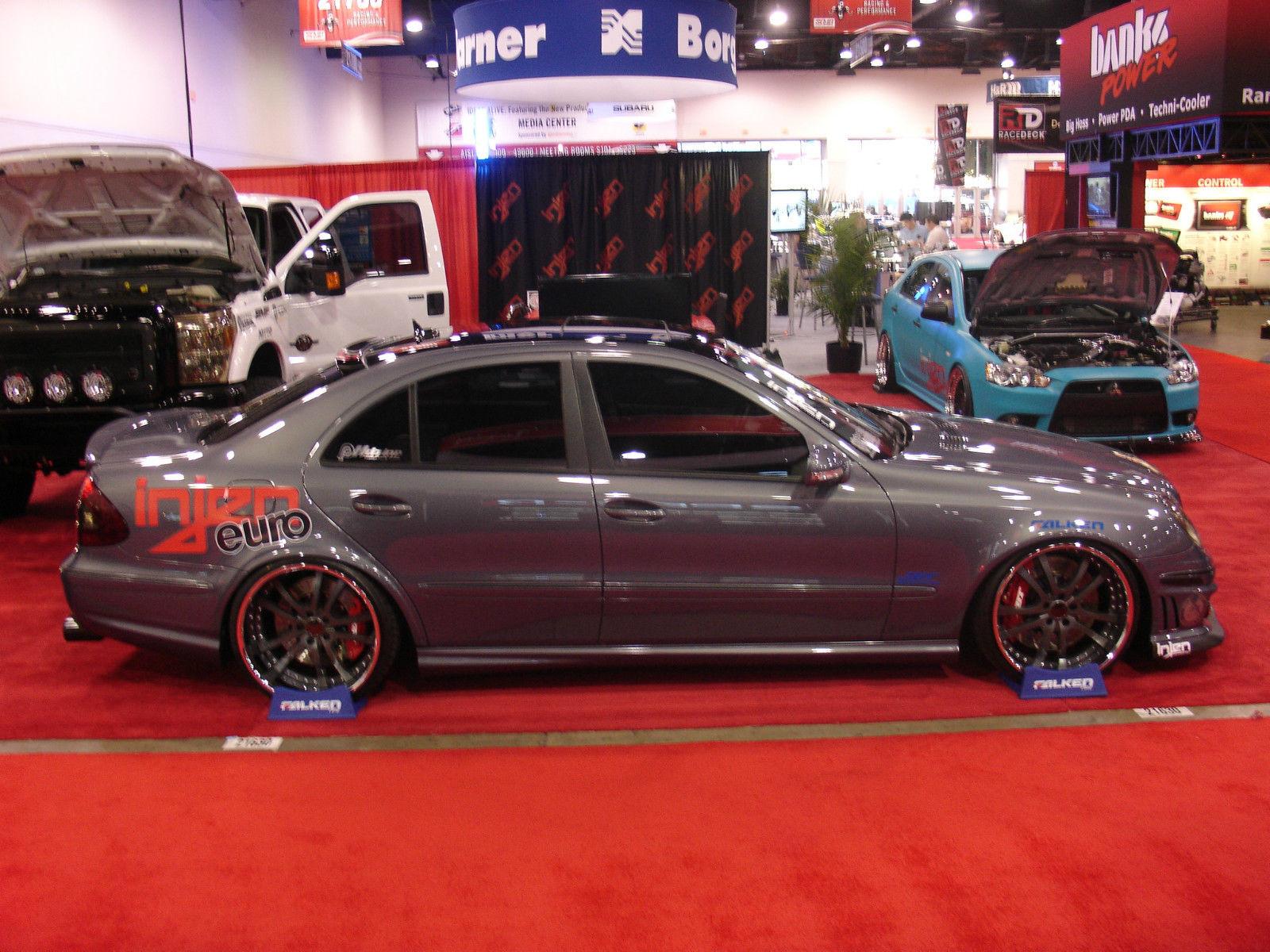 MercedesBenz W211 E550 Stance BENZTUNING
