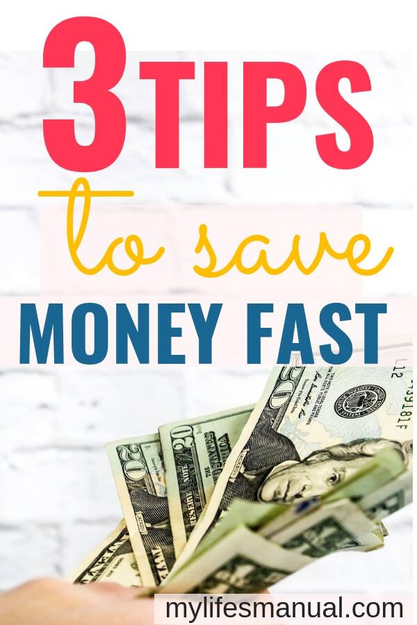 3 hacks to save money fast