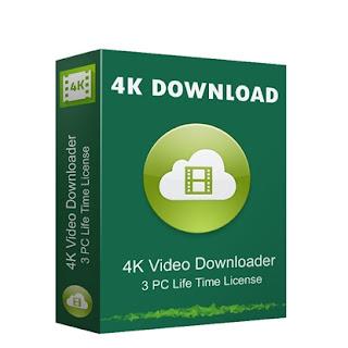 تحميل جميع فيديوهات القناة مرة وحده 4K Video Downloader 4.3.0.2195 صامت 2017