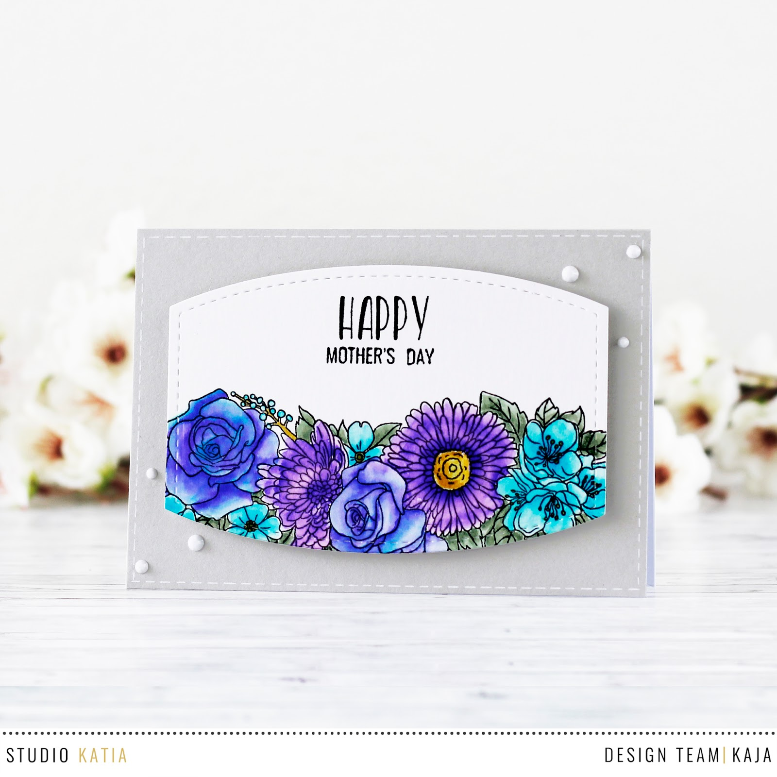 Mother's day card | STUDIO KATIA
