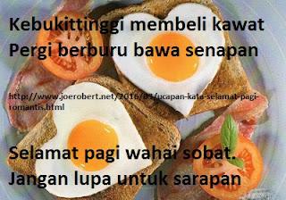 sarapan pagi dulu sobat