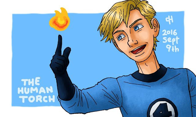 Marvel, The Human Torch