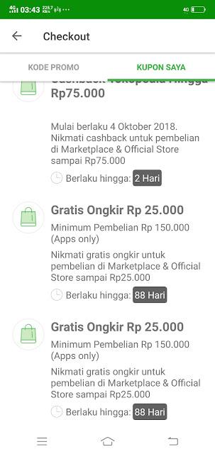 GRATIS ONGKIR Tokopedia