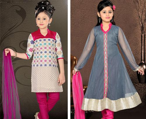 model baju india anak perempuan