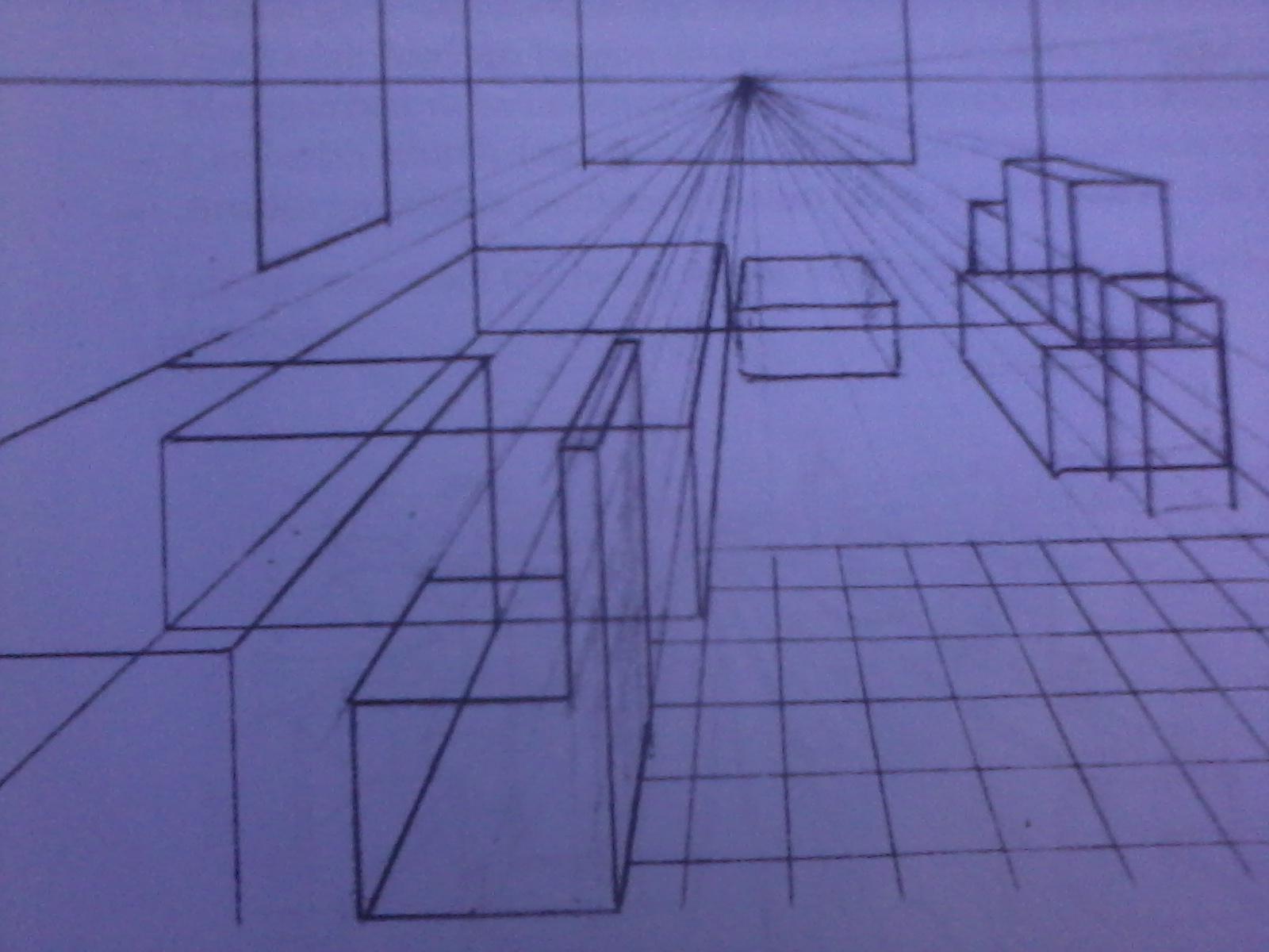 Download Gambar Ruang Sketsa Sudut Kotak Aja