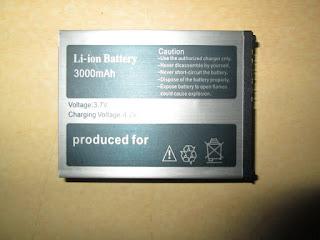 Baterai Hape Outdoor Snopow M6 Original 3000mAh