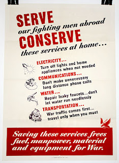 WW2 Conservation Poster