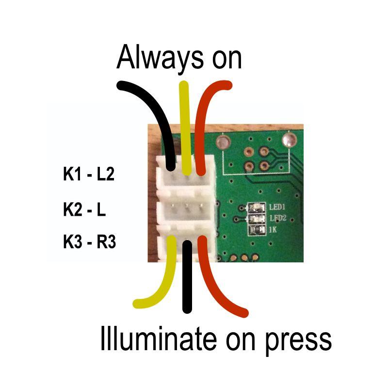 The CY-822B led-joystick project: The CY-822B USB led