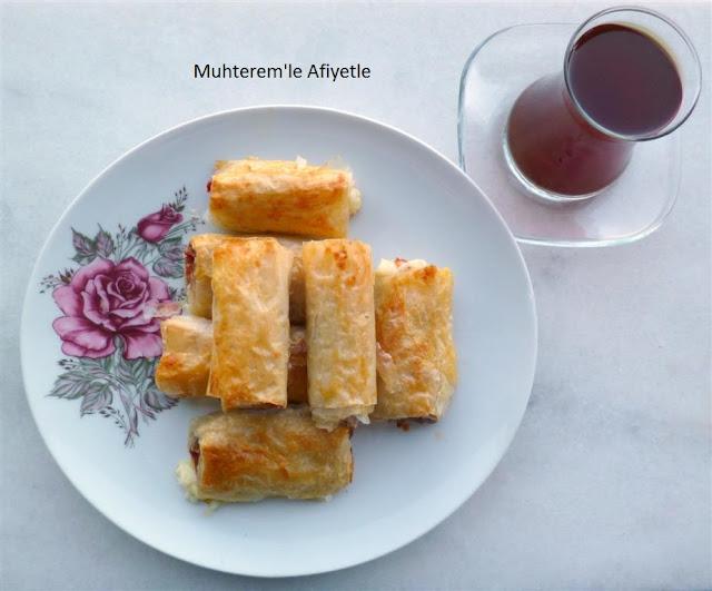 baklava yufkasından paçanga böreği tarifi
