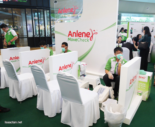 Anlene MoveCheck, to check the health of your bones