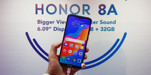 Review HONOR 8A, Spesifikasi dan Harga HONOR 8A Indonesia