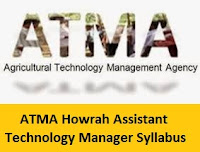 ATMA Howrah Assistant Technology Manager Syllabus
