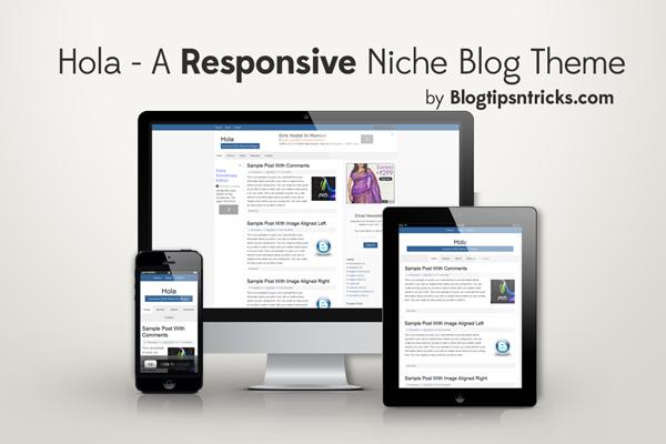 Hola Responsive Niche Blogger Theme Demo