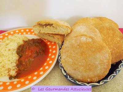 Comment faire des pains marocains au four ?