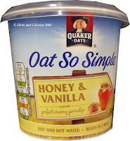 Quaker Oats so simple Honey & Vanilla