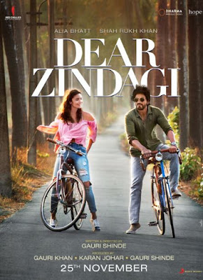 Dear Zindagi Movie First Look, Poster & Wallpapers