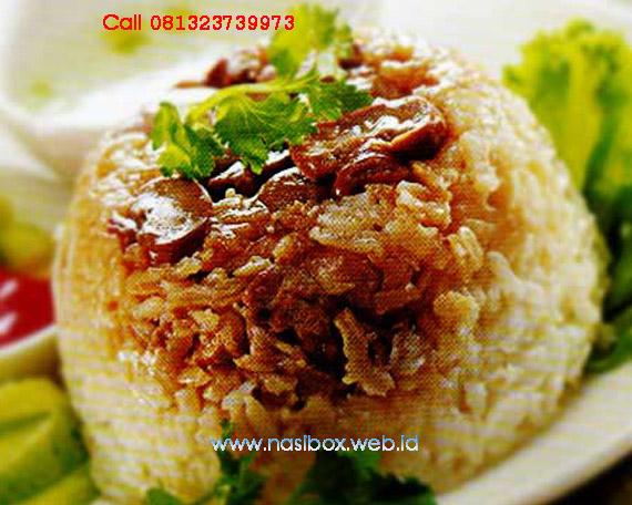 Resep nasi tim nasi box kawah putih ciwidey