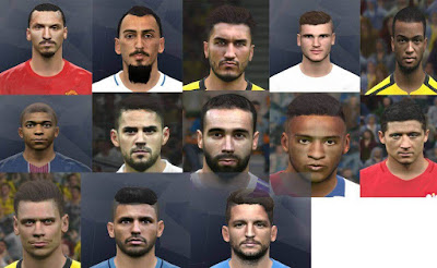 PES 2017 International Facepack 2018