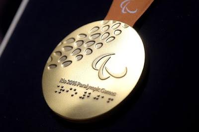 medali paralimpaide 2016 rio brazil