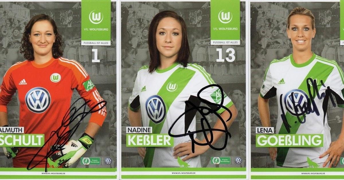 Football Cartophilic Info Exchange: VfL Wolfsburg Frauen ...