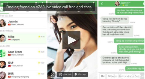 Finding Friend on Azar Live Video Call Free and Chat - Azar