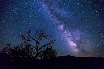Death Valley Night Sky,California,USA