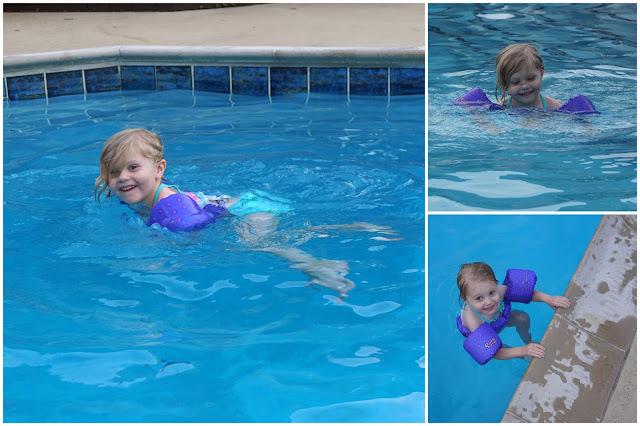Stella at the Pool
