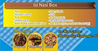 nasi box aqiqah jogja