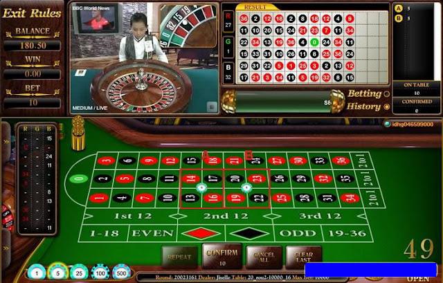 Cara Bermain Permainan Roulette Wm Casino