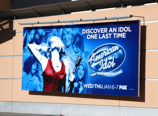 American Idol farewell season 15 billboard