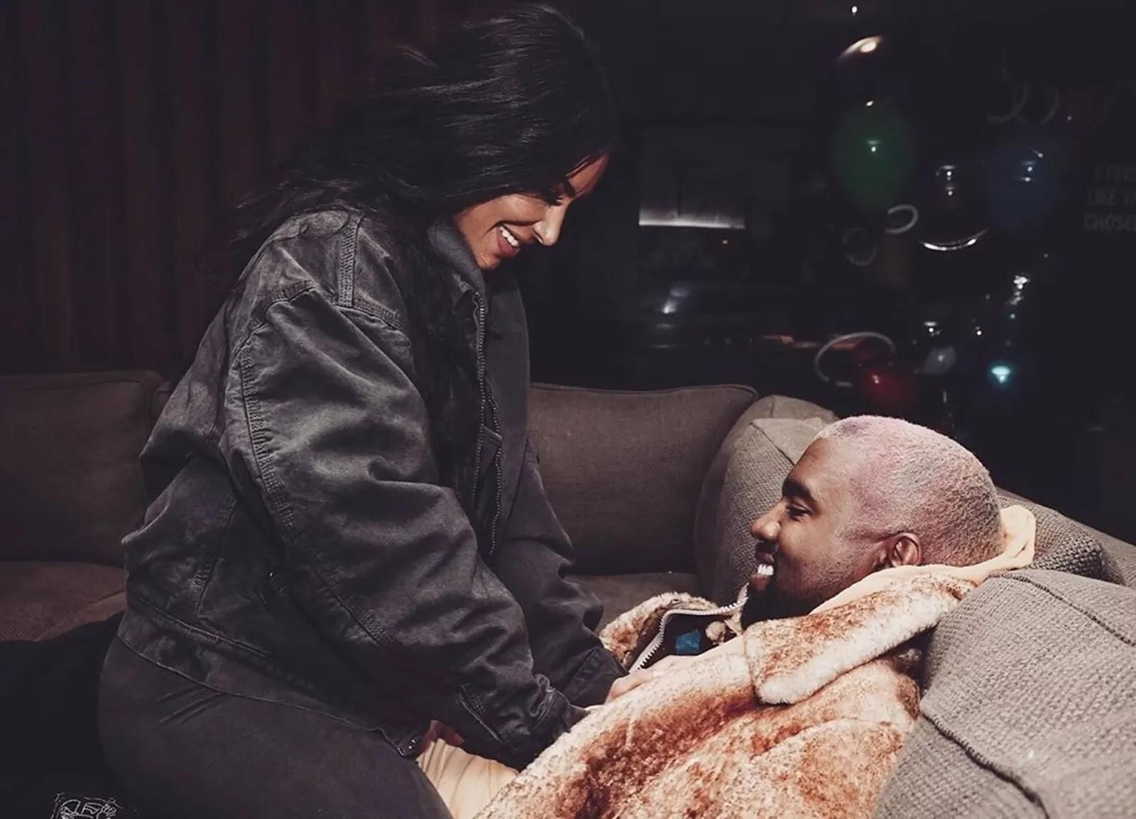 Kim Kardashian Kanye West Family